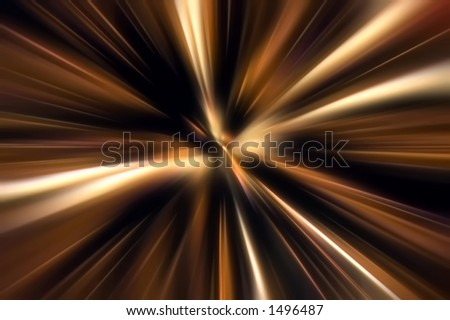 color motion zoom - stock photo