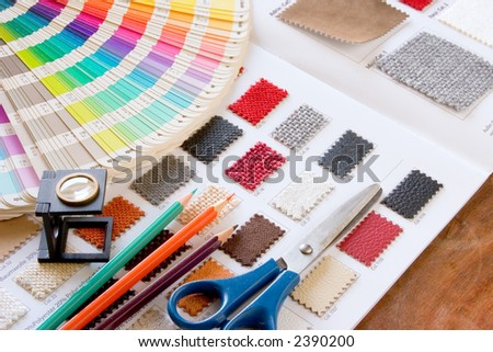 color muster 1 - stock photo