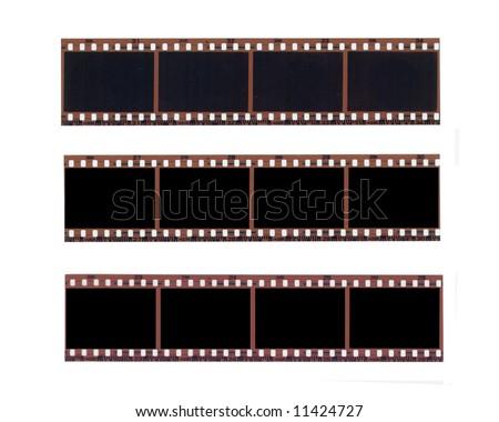color negative film set - stock photo