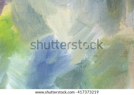 Color oil painting texture. Abstract background - stock photo
