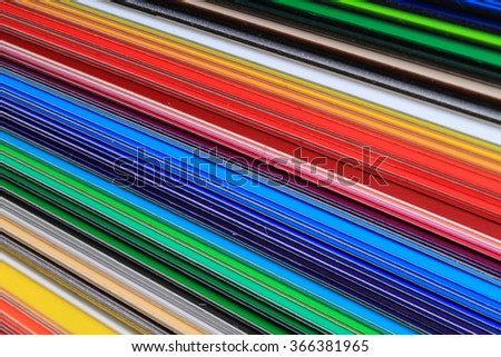color pallette texture as very easy background - stock photo