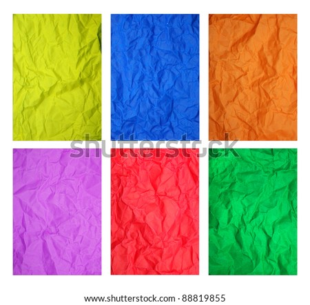 Color Paper texture - stock photo