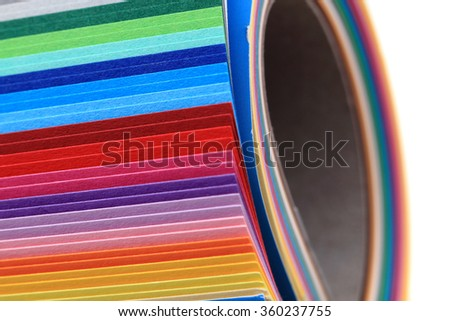 color papers as nice very easy background