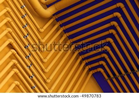 Color Plumbing - stock photo