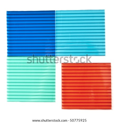 Color Polycarbonate Sheets Stock Photo 50775925 - Shutterstock