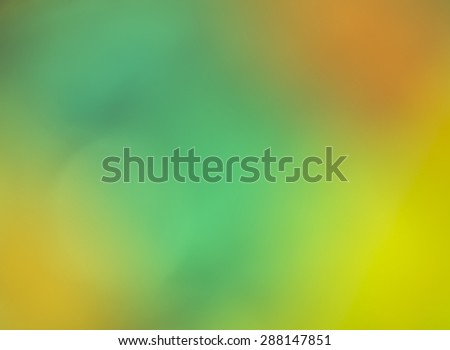 Color rainbow abstraction on defocused background (more green) - stock photo