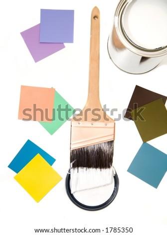 Color Scheme 3 - stock photo
