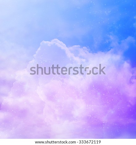 Color sky background - stock photo