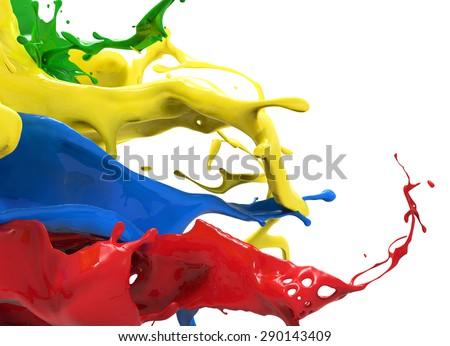 color splash - stock photo