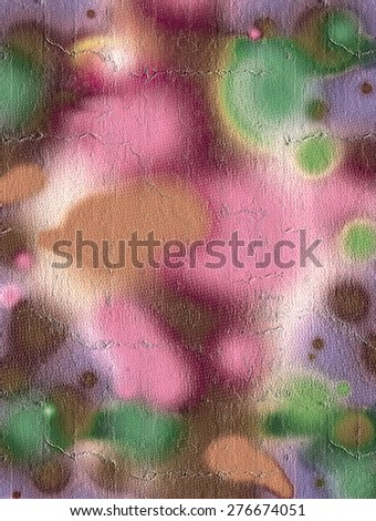 Color spot - stock photo