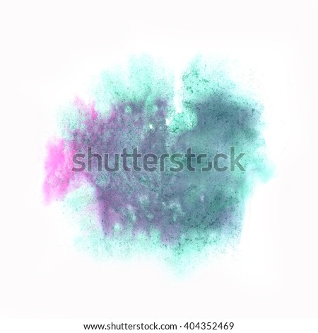 color spot blue purple macro blotch texture isolated white background