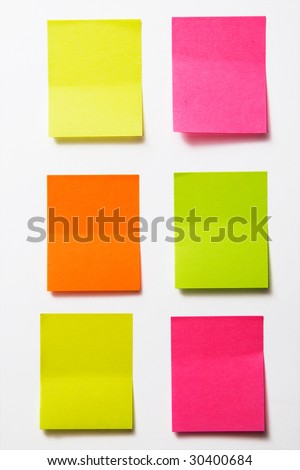color stickers - stock photo
