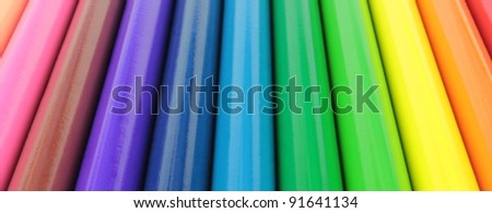 Color strips banner