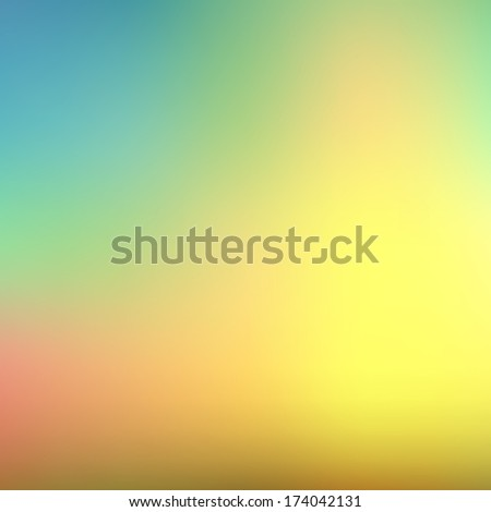 Color summer background. Green, sunny natural background  - stock photo