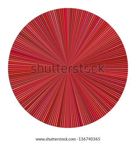color wheel striped multiple red