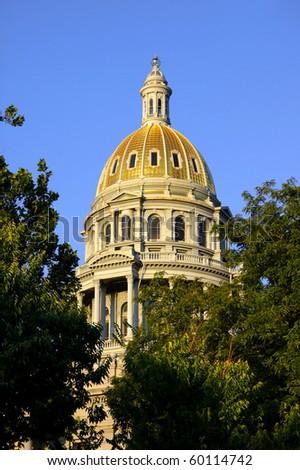 Colorado state Capital - stock photo