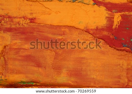 Colored background / Photo of colored powder - stock photo
