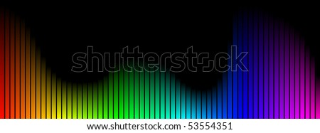 Colored bars - stock photo