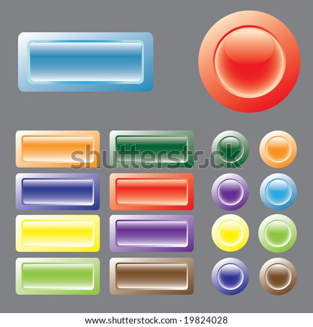 Colored buttons. There is a vectorial version in portfolio.
