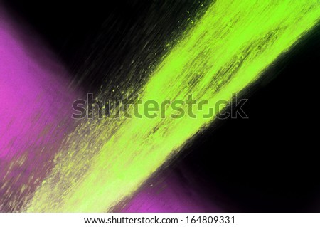 Colored Fountain - stock photo
