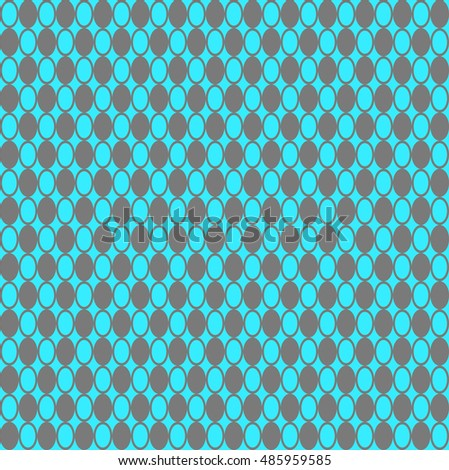 Colored Hypnotic Background Seamless Pattern.  Illustration.
