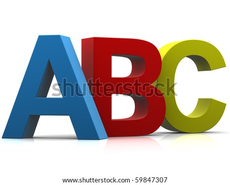 Colored Letters