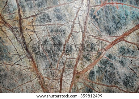 colored  marble with thiny line - stock photo