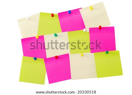 Colored notes paper - memo stick