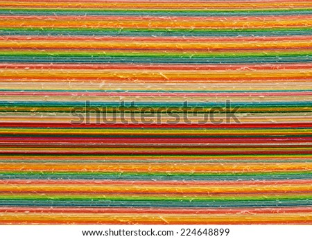 Colored paper background - stock photo