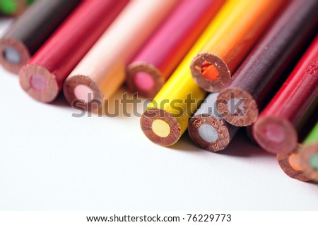 Colored Pencils 3 - stock photo