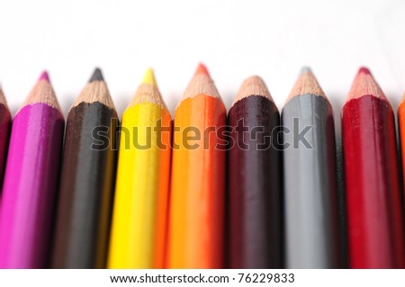 Colored Pencils 4 - stock photo
