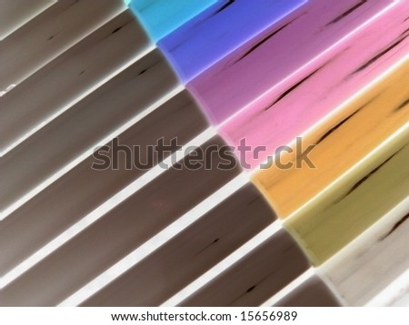 Colored Pincils - stock photo