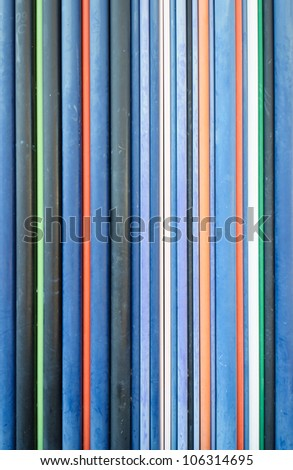 Colored Pipes - stock photo