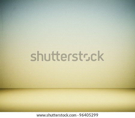 Colored plastic wall background or texture - stock photo