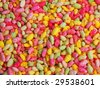 colored rice beads - stock photo