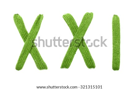 Colored shoelaces on a white background - stock photo