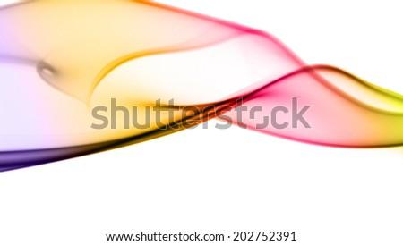 Colored Smoke Background - stock photo