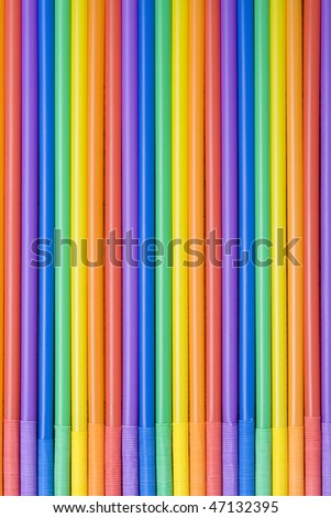 Colored straws
