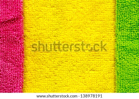 colored terry cloth background - stock photo