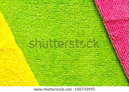 colored terry cloth background