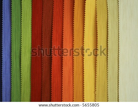 Colored textile texture - stock photo