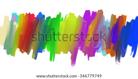 Colored textured abstraction for your design or background.