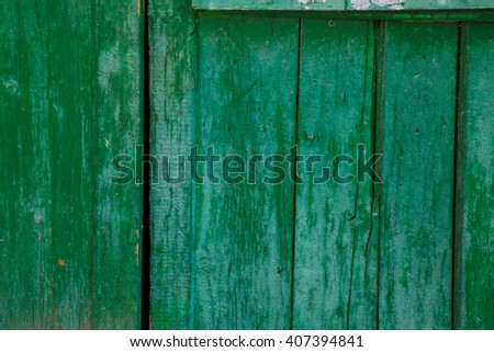 colored wood background blue wooden abstract plank texture - stock photo