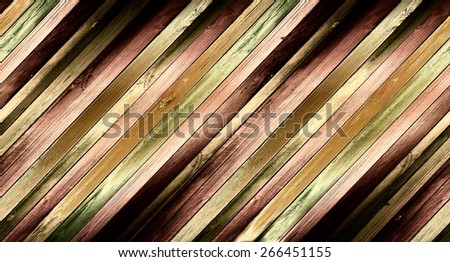 colored wooden background, with light modeling - stock photo