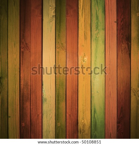 colored wooden background, with light modeling