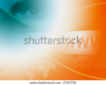 Colored www background. - stock photo