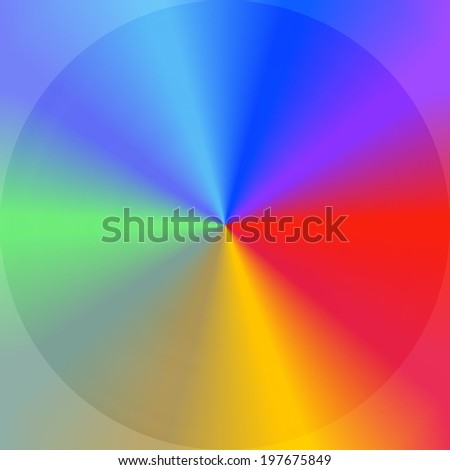 colorful abstract background of clean fresh concept