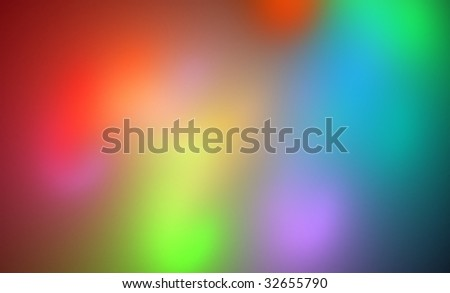 Colorful abstract background on the black