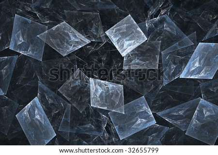 Colorful abstract background on the black - stock photo