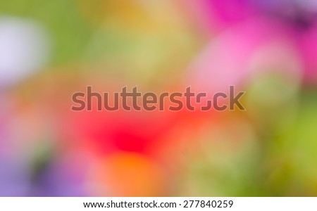 Colorful abstract background, vibrant background, blurred background. - stock photo